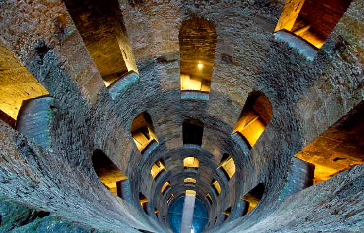 Orvieto S. Patrick's well tour