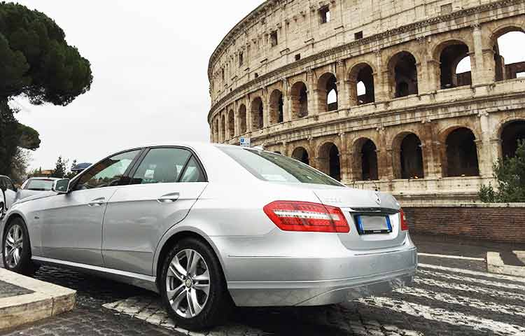 Private chauffeur transfer Rome